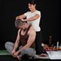 Masajista y paciente
