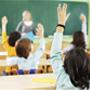 Alumnos en aula de colegio