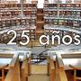 biblioteca 25 años