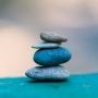 Piedras meditación